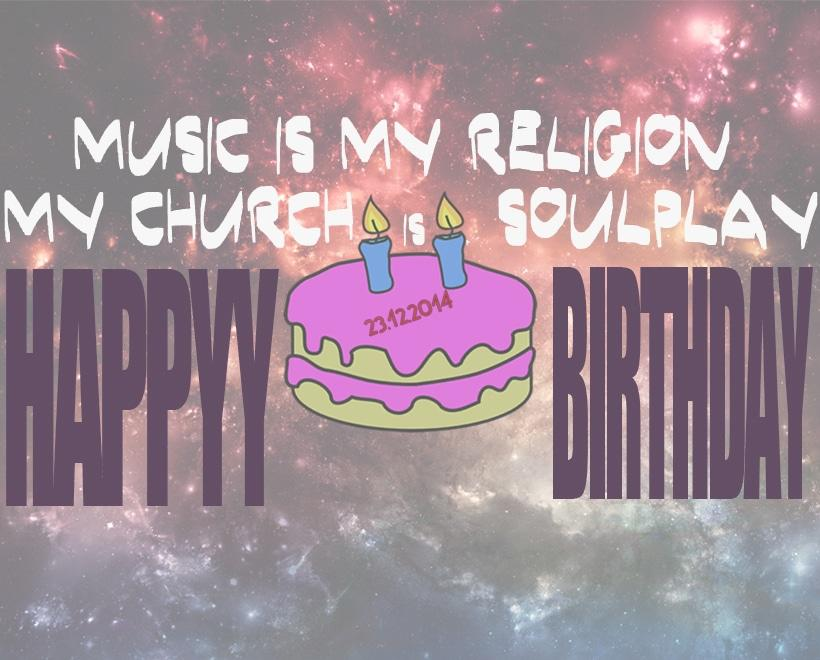 Happy Birthday Soulplay Radio Two Year